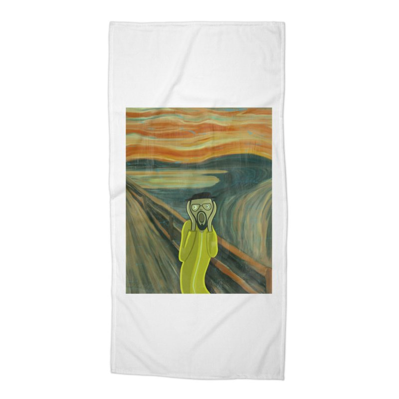 Munchenberg Accessories Beach Towel by ferg's Artist Shop