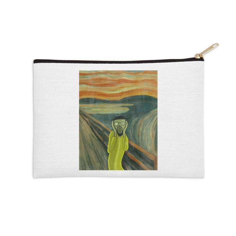 Munchenberg Accessories Zip Pouch by ferg's Artist Shop