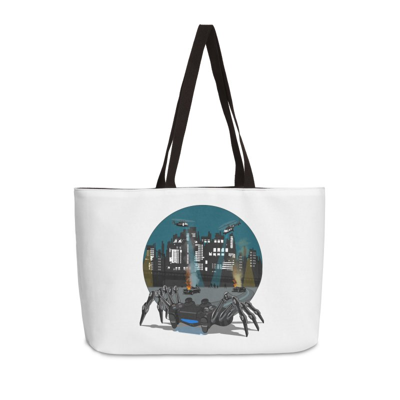 Dual Shock Crab Accessories Bag by ferg's Artist Shop
