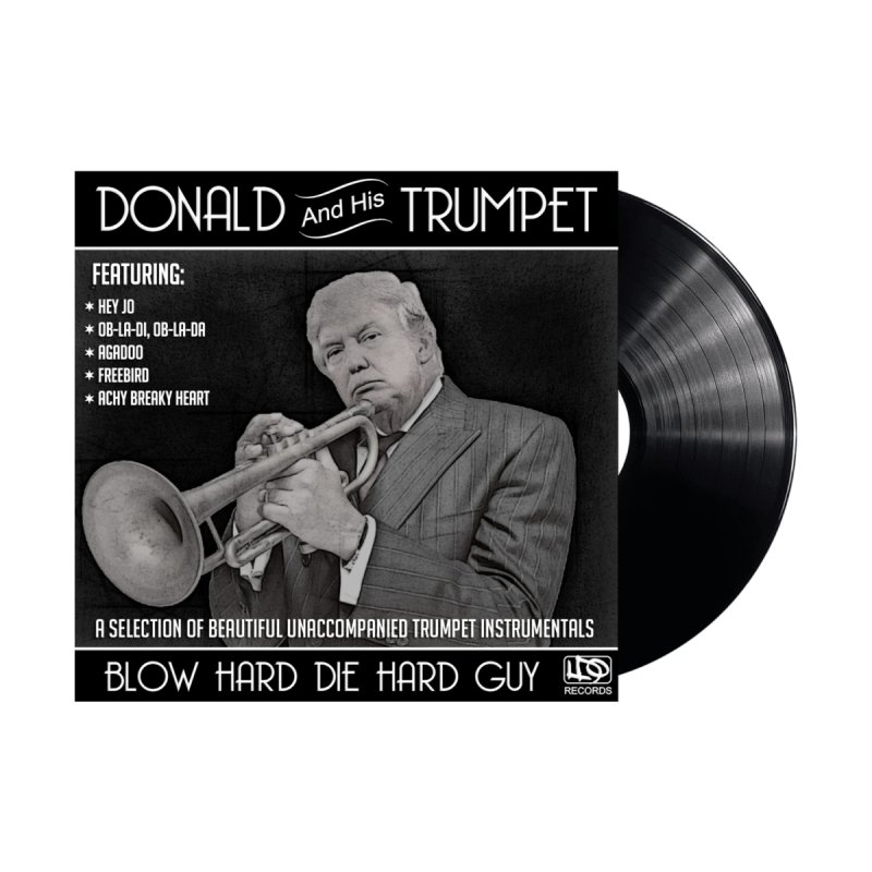 Donalds Trumpet None  by ferg's Artist Shop
