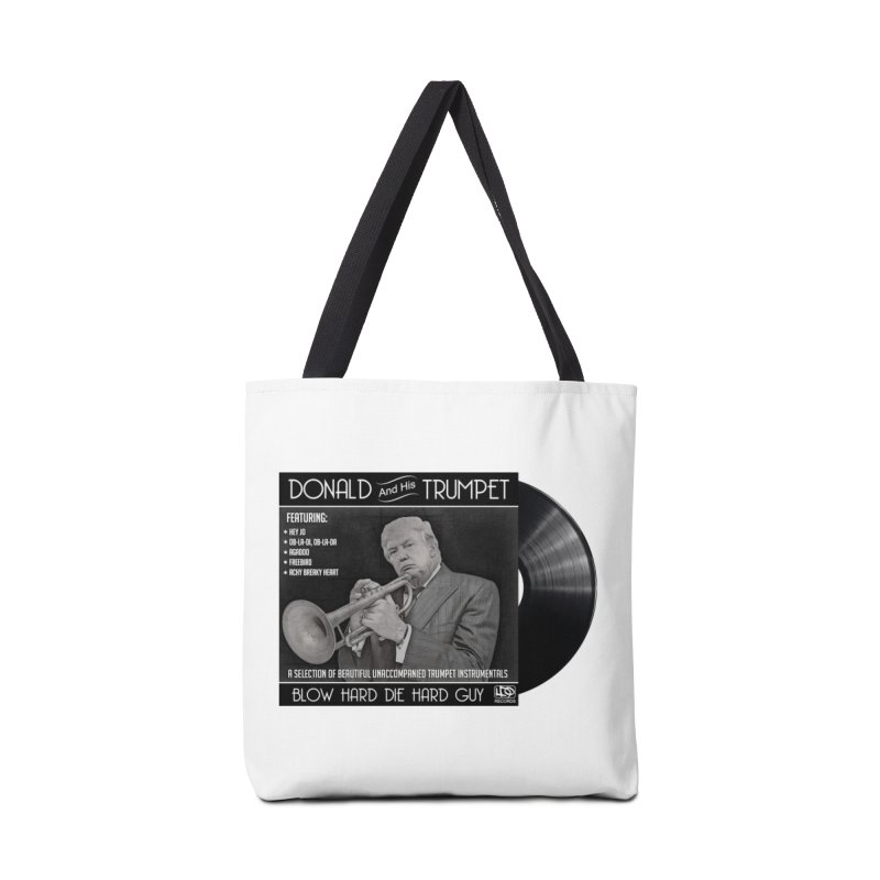 Donalds Trumpet Accessories Tote Bag Bag by ferg's Artist Shop