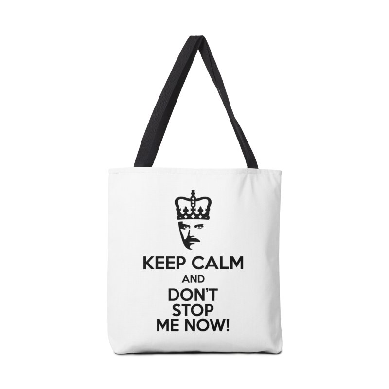 Don't Stop Me Accessories Bag by ferg's Artist Shop