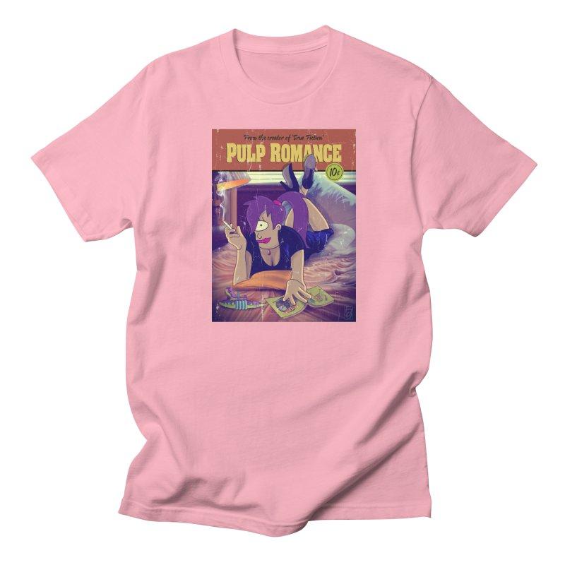 Pulp Romance Men's Regular T-Shirt by ferg's Artist Shop