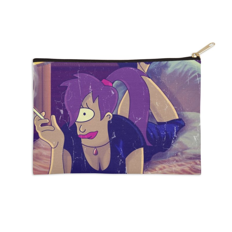 Pulp Romance Accessories Zip Pouch by ferg's Artist Shop
