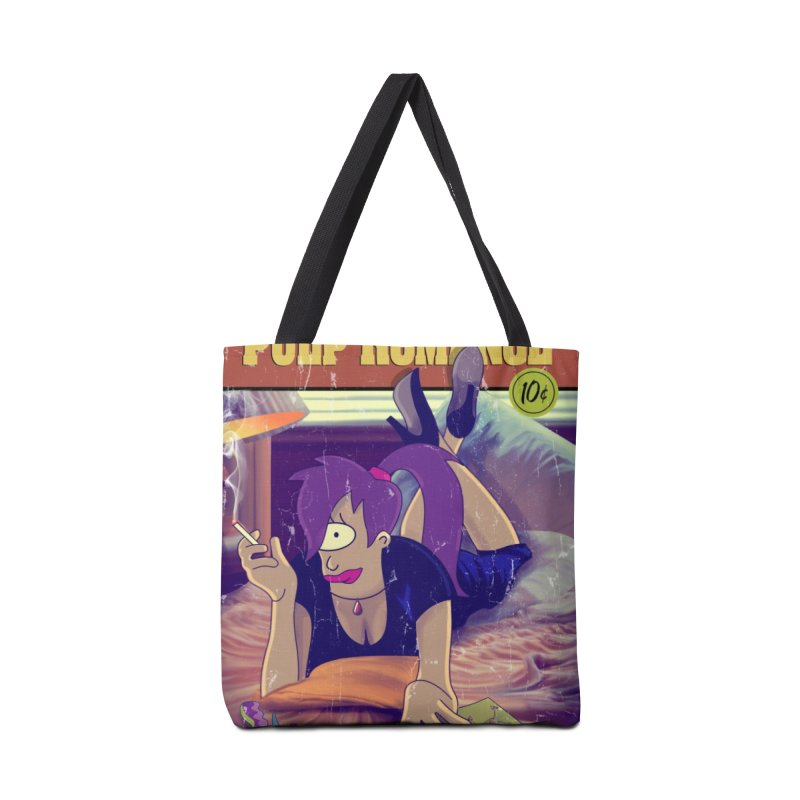Pulp Romance Accessories Tote Bag Bag by ferg's Artist Shop