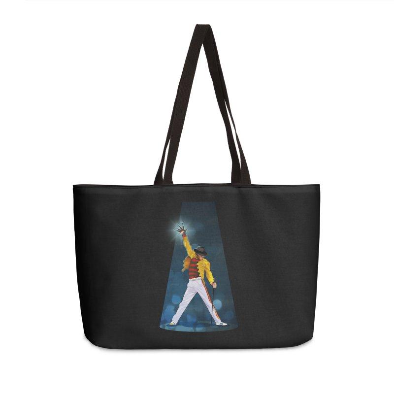 KILLER QUEEN Accessories Weekender Bag Bag by ferg's Artist Shop