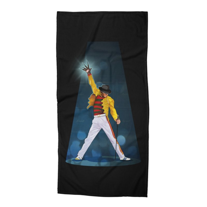 KILLER QUEEN Accessories Beach Towel by ferg's Artist Shop