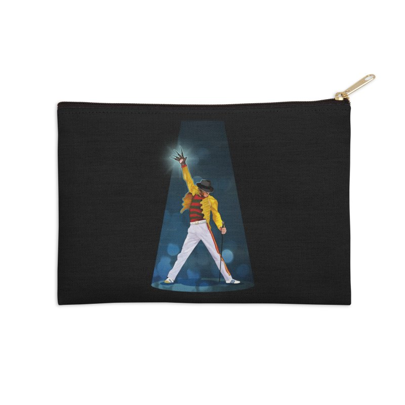 KILLER QUEEN Accessories Zip Pouch by ferg's Artist Shop