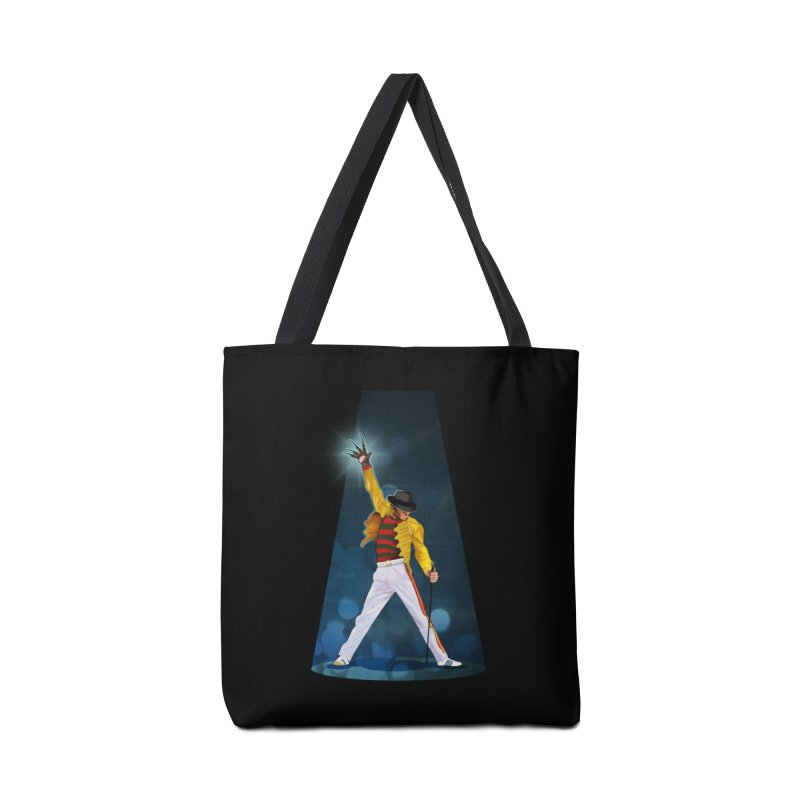 KILLER QUEEN Accessories Tote Bag Bag by ferg's Artist Shop