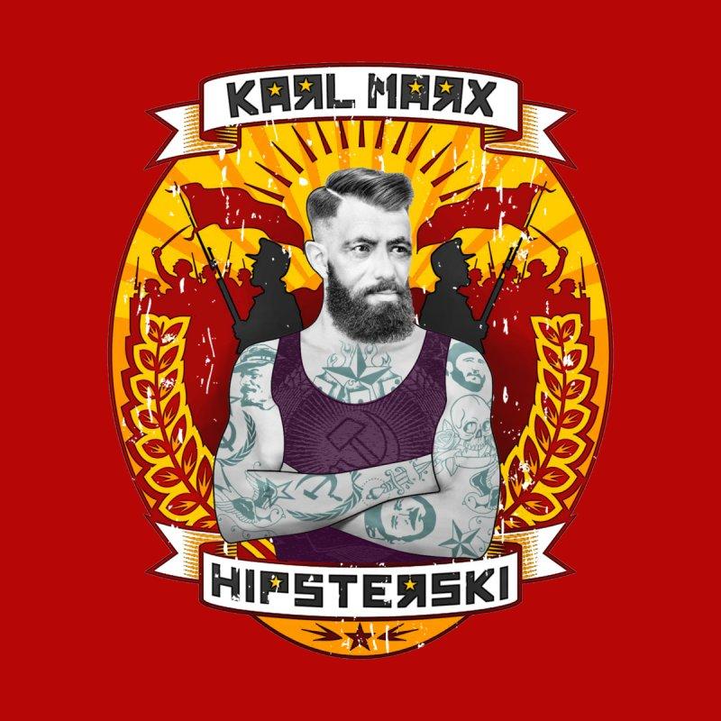 Karl Marx Hipster Kids Toddler Longsleeve T-Shirt by ferg's Artist Shop
