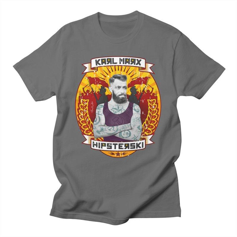 Karl Marx Hipster Men's T-Shirt by ferg's Artist Shop