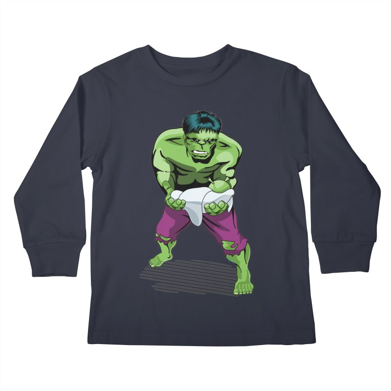 Whose Baby? Kids Longsleeve T-Shirt by ferg's Artist Shop
