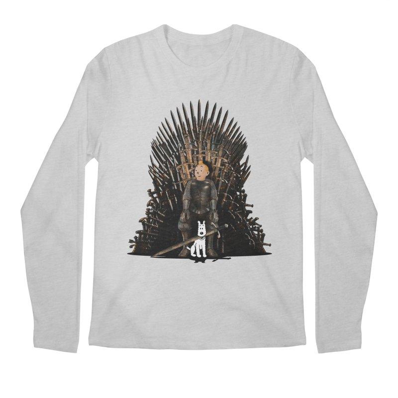 The Dire Wolf Men's Regular Longsleeve T-Shirt by ferg's Artist Shop