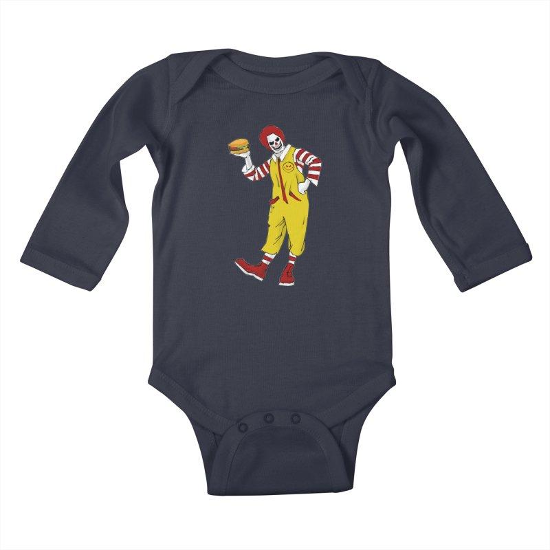 Enjoy Kids Baby Longsleeve Bodysuit by ferg's Artist Shop
