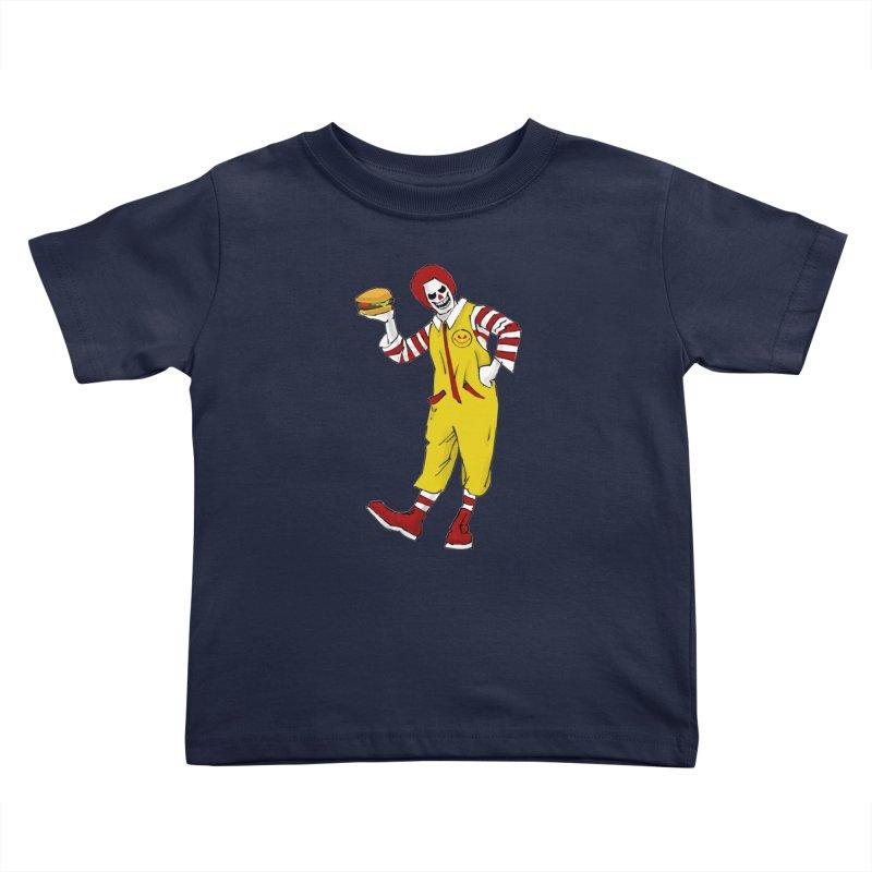 Enjoy Kids Toddler T-Shirt by ferg's Artist Shop