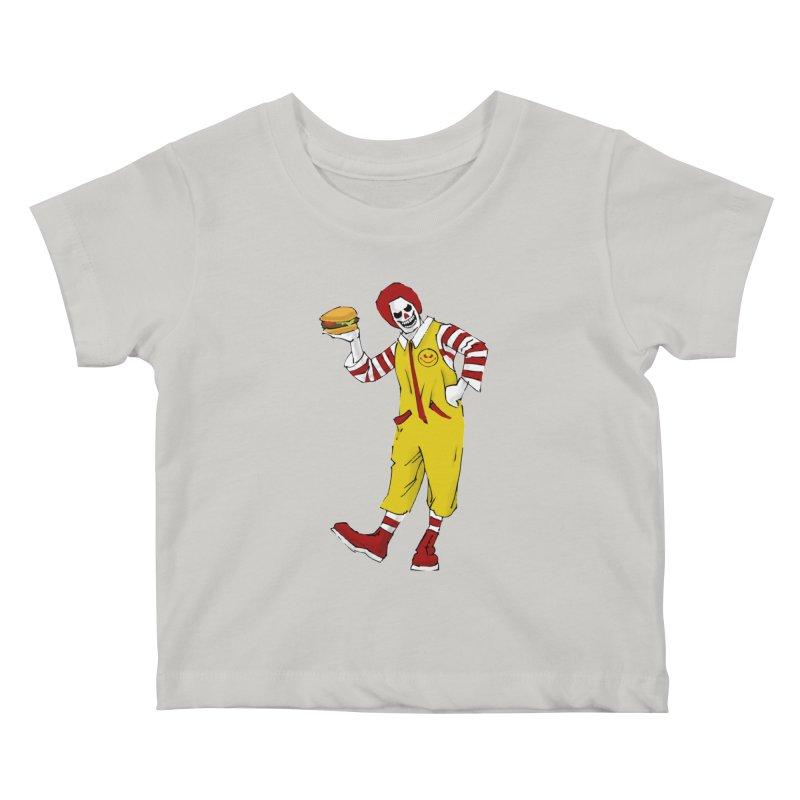 Enjoy Kids Baby T-Shirt by ferg's Artist Shop