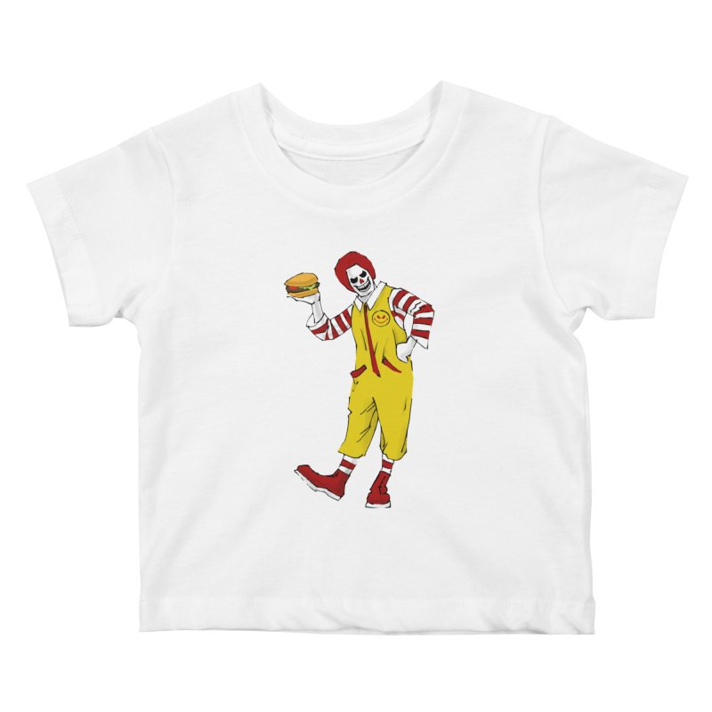 Enjoy Kids Baby T-Shirt by ferg's Artist Shop