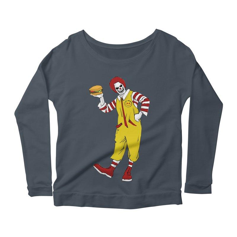 Enjoy Women's Scoop Neck Longsleeve T-Shirt by ferg's Artist Shop