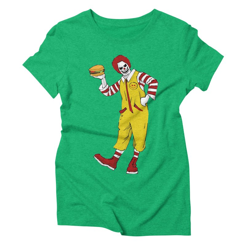 Enjoy Women's Triblend T-Shirt by ferg's Artist Shop