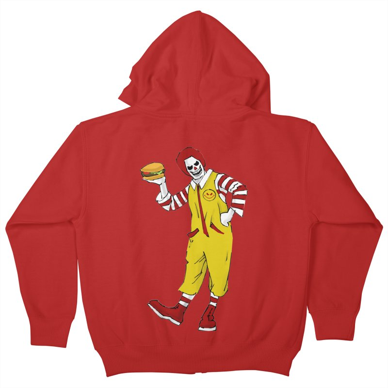Enjoy Kids Zip-Up Hoody by ferg's Artist Shop