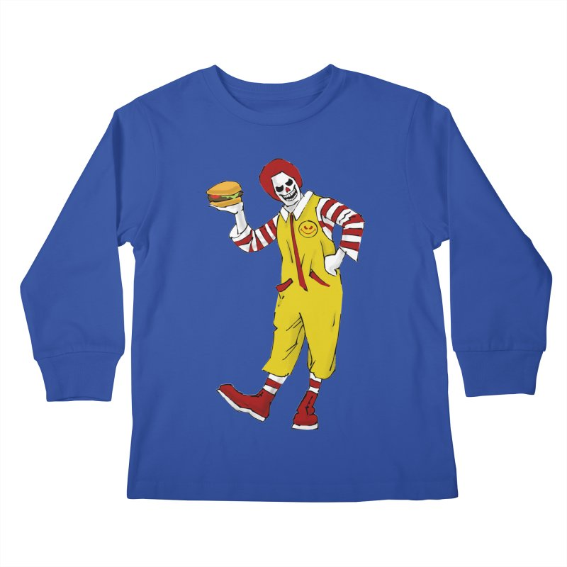 Enjoy Kids Longsleeve T-Shirt by ferg's Artist Shop