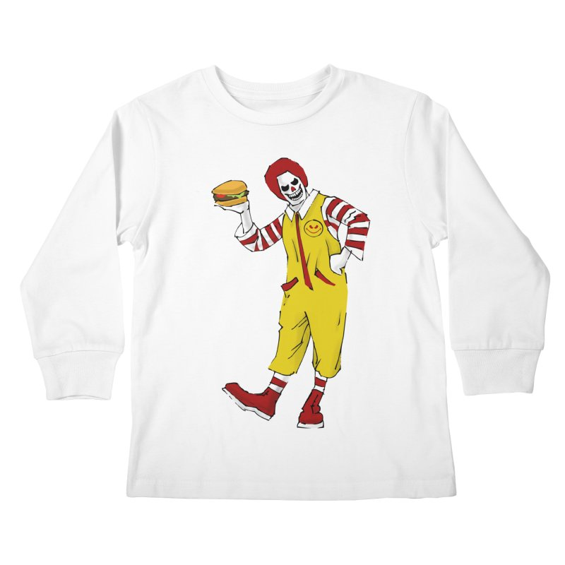 Enjoy Kids Longsleeve T-Shirt by ferg's Artist Shop