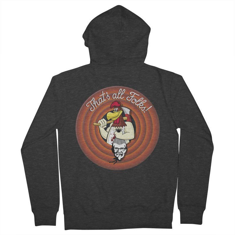 Payback Women's French Terry Zip-Up Hoody by ferg's Artist Shop