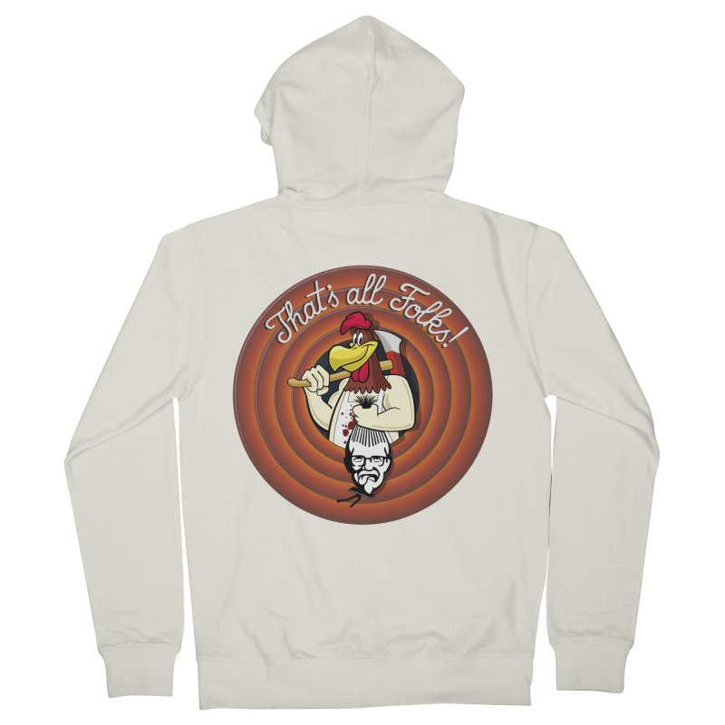 Payback Men's Zip-Up Hoody by ferg's Artist Shop