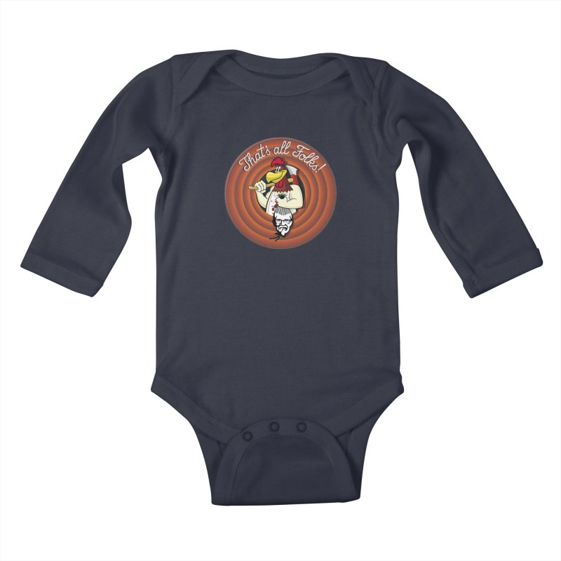 Payback Kids Baby Longsleeve Bodysuit by ferg's Artist Shop