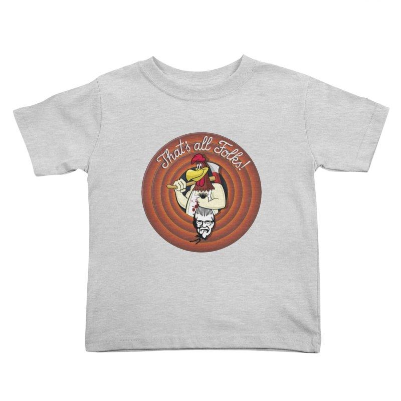 Payback Kids Toddler T-Shirt by ferg's Artist Shop