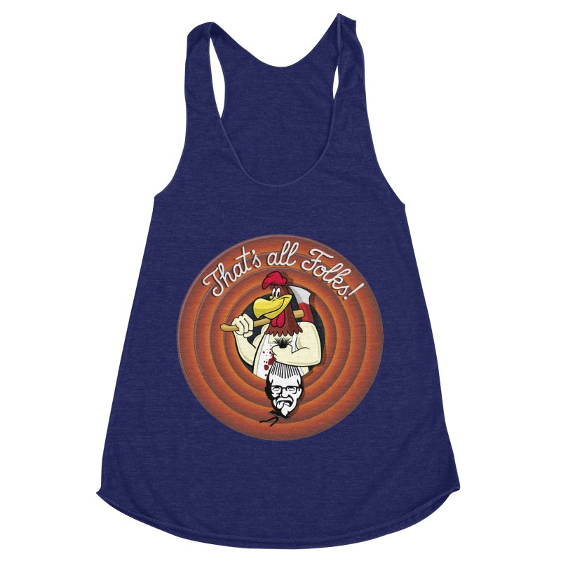 Payback Women's Racerback Triblend Tank by ferg's Artist Shop