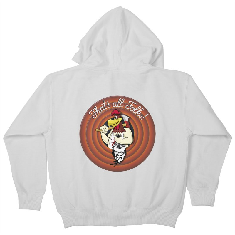 Payback Kids Zip-Up Hoody by ferg's Artist Shop