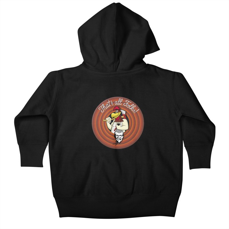 Payback Kids Baby Zip-Up Hoody by ferg's Artist Shop