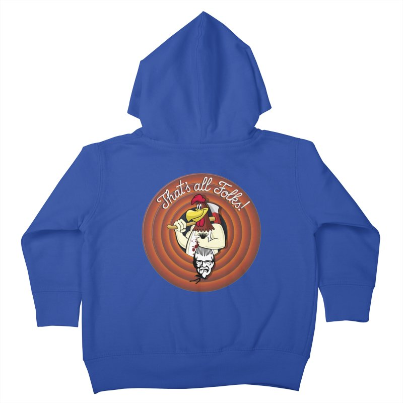 Payback Kids Toddler Zip-Up Hoody by ferg's Artist Shop