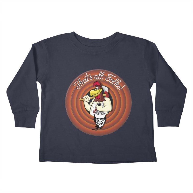 Payback Kids Toddler Longsleeve T-Shirt by ferg's Artist Shop