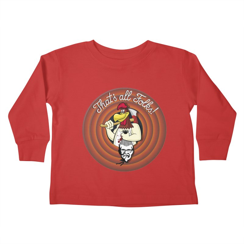 Payback Kids Toddler Longsleeve T-Shirt by ferg's Artist Shop