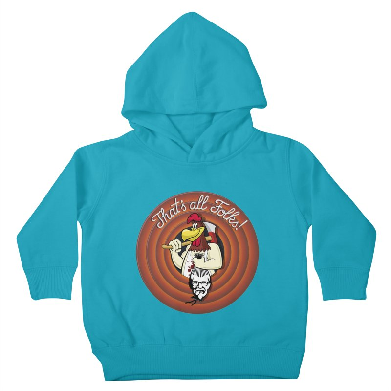 Payback Kids Toddler Pullover Hoody by ferg's Artist Shop