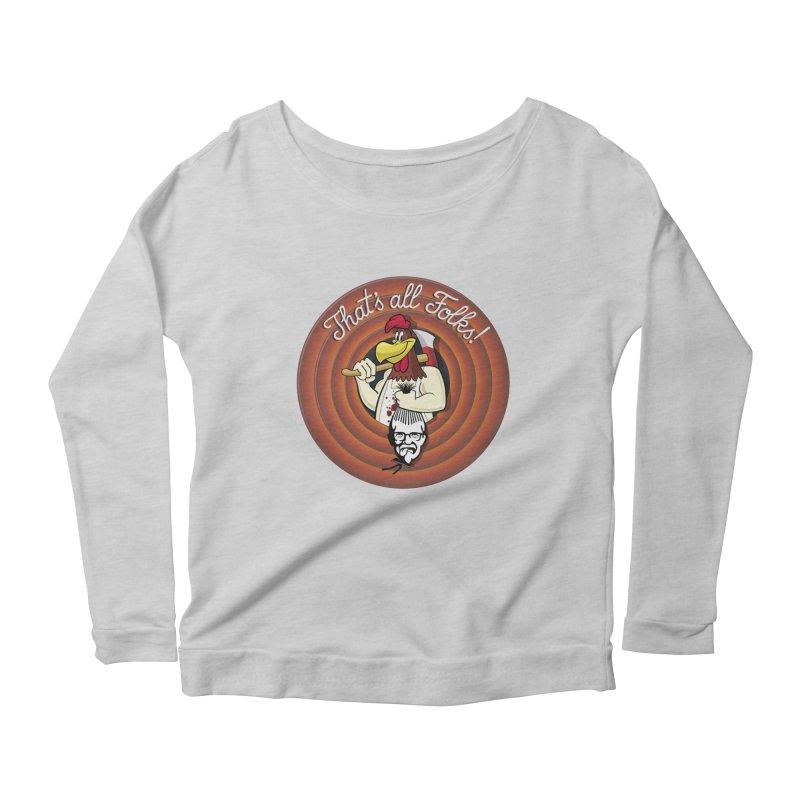 Payback Women's Scoop Neck Longsleeve T-Shirt by ferg's Artist Shop