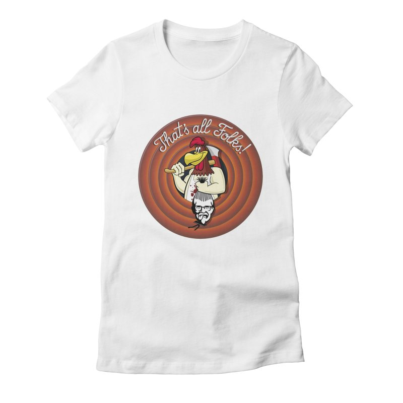 Payback Women's Fitted T-Shirt by ferg's Artist Shop