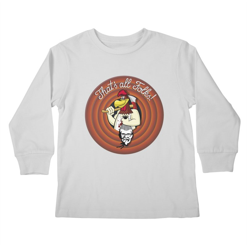 Payback Kids Longsleeve T-Shirt by ferg's Artist Shop