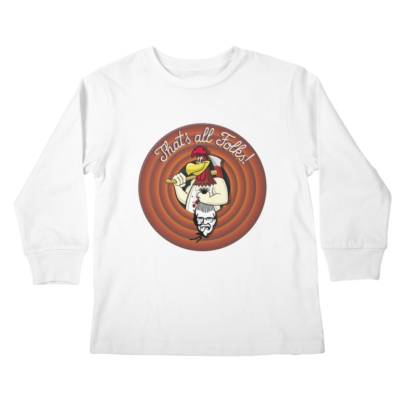 Payback Kids Longsleeve T-Shirt by ferg's Artist Shop