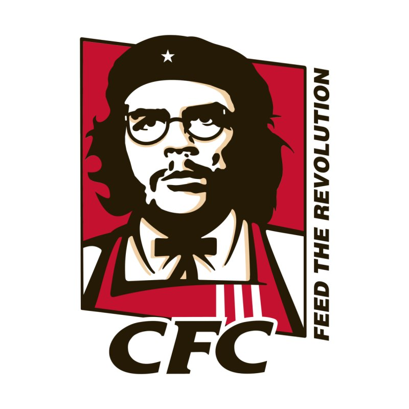 Che's Fried Chicken Kids Longsleeve T-Shirt by ferg's Artist Shop