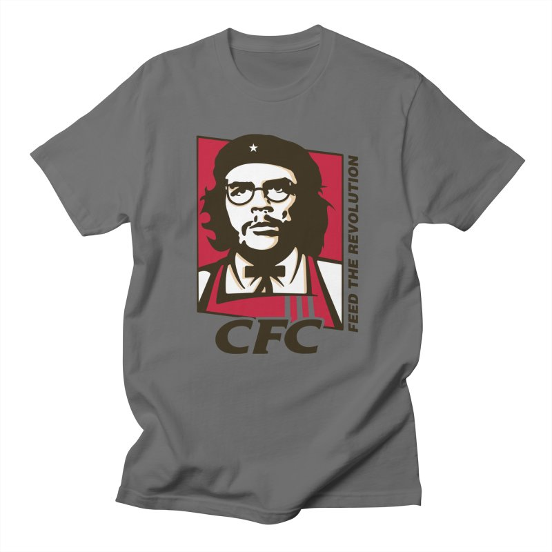 Che's Fried Chicken Men's T-Shirt by ferg's Artist Shop