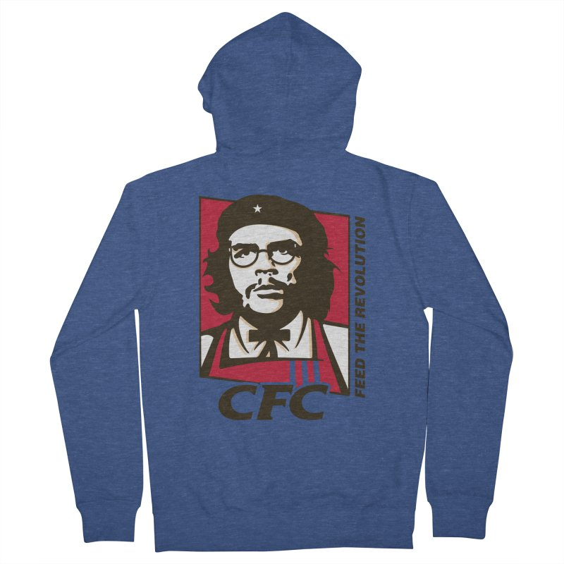 Che's Fried Chicken Women's French Terry Zip-Up Hoody by ferg's Artist Shop