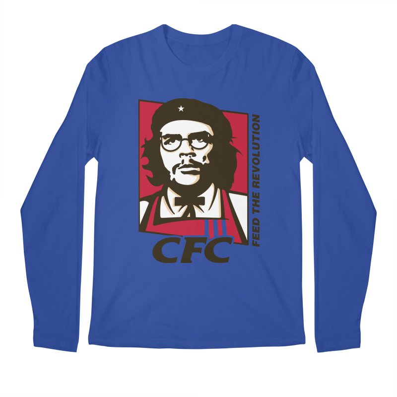 Che's Fried Chicken Men's Regular Longsleeve T-Shirt by ferg's Artist Shop