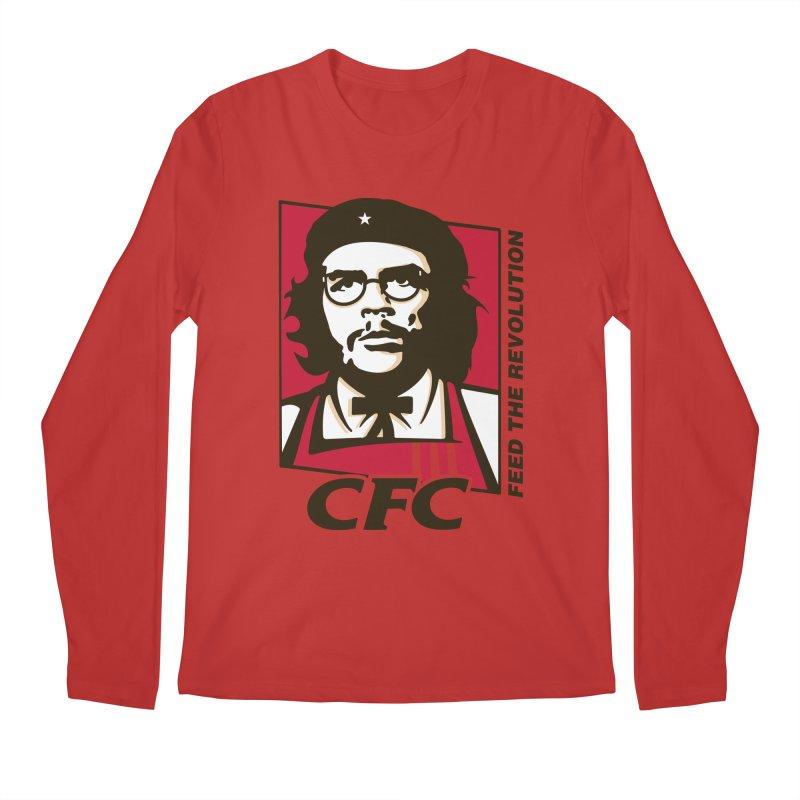 Che's Fried Chicken Men's Regular Longsleeve T-Shirt by ferg's Artist Shop