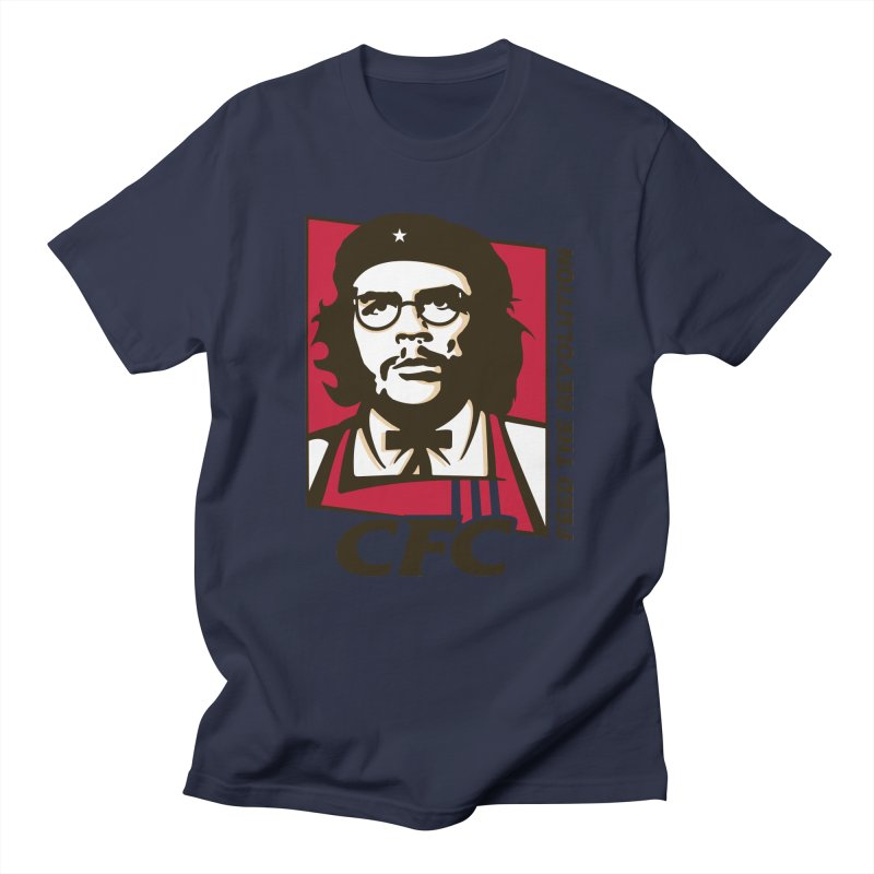Che's Fried Chicken Men's Regular T-Shirt by ferg's Artist Shop