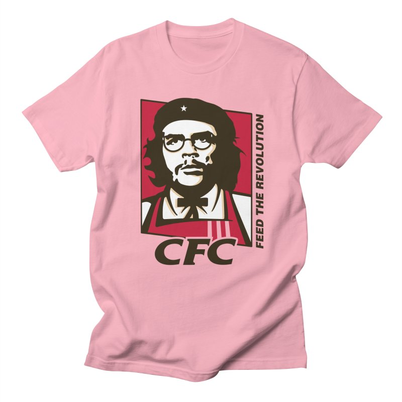 Che's Fried Chicken Men's T-Shirt by ferg's Artist Shop