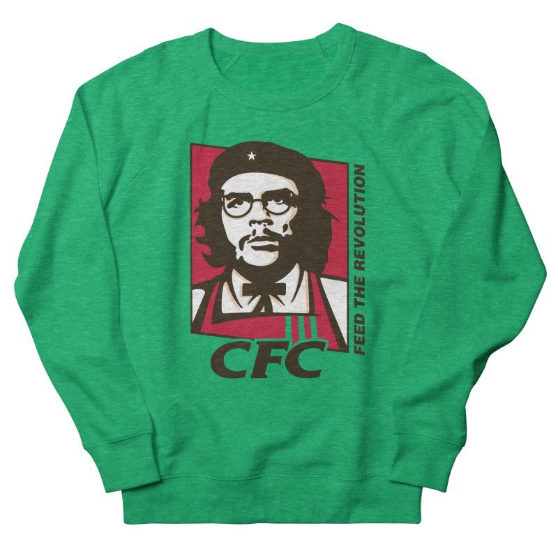 Che's Fried Chicken Women's French Terry Sweatshirt by ferg's Artist Shop