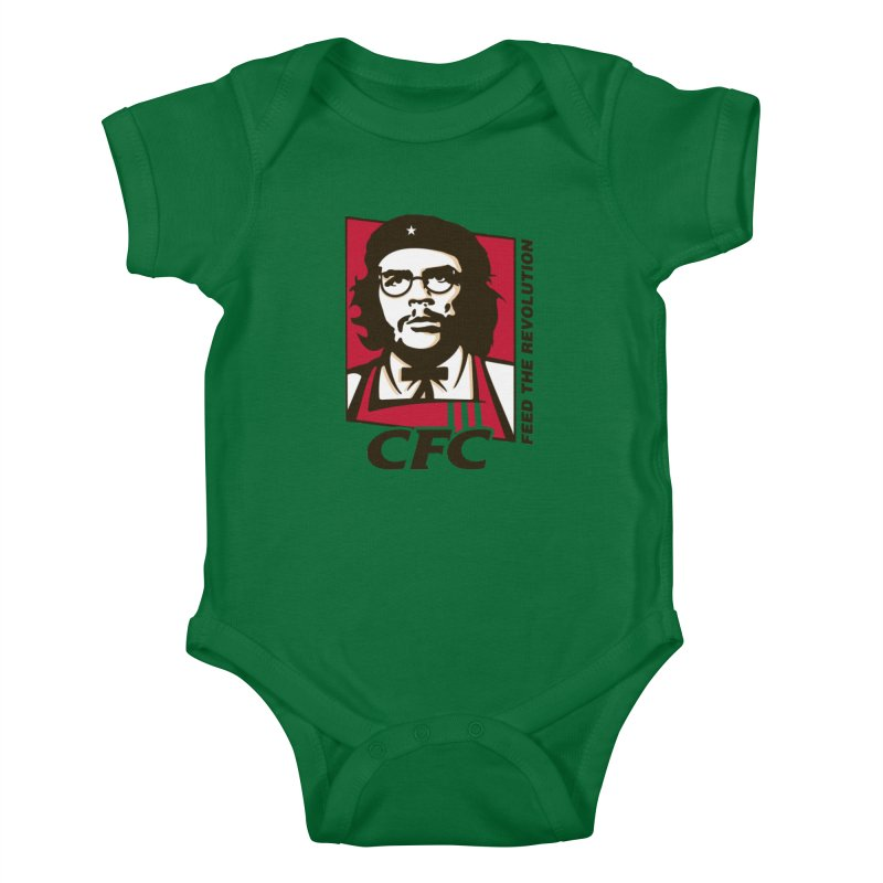 Che's Fried Chicken Kids Baby Bodysuit by ferg's Artist Shop
